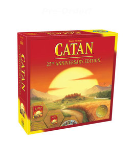 Catan Studios Catan 25th Annivesary Edition