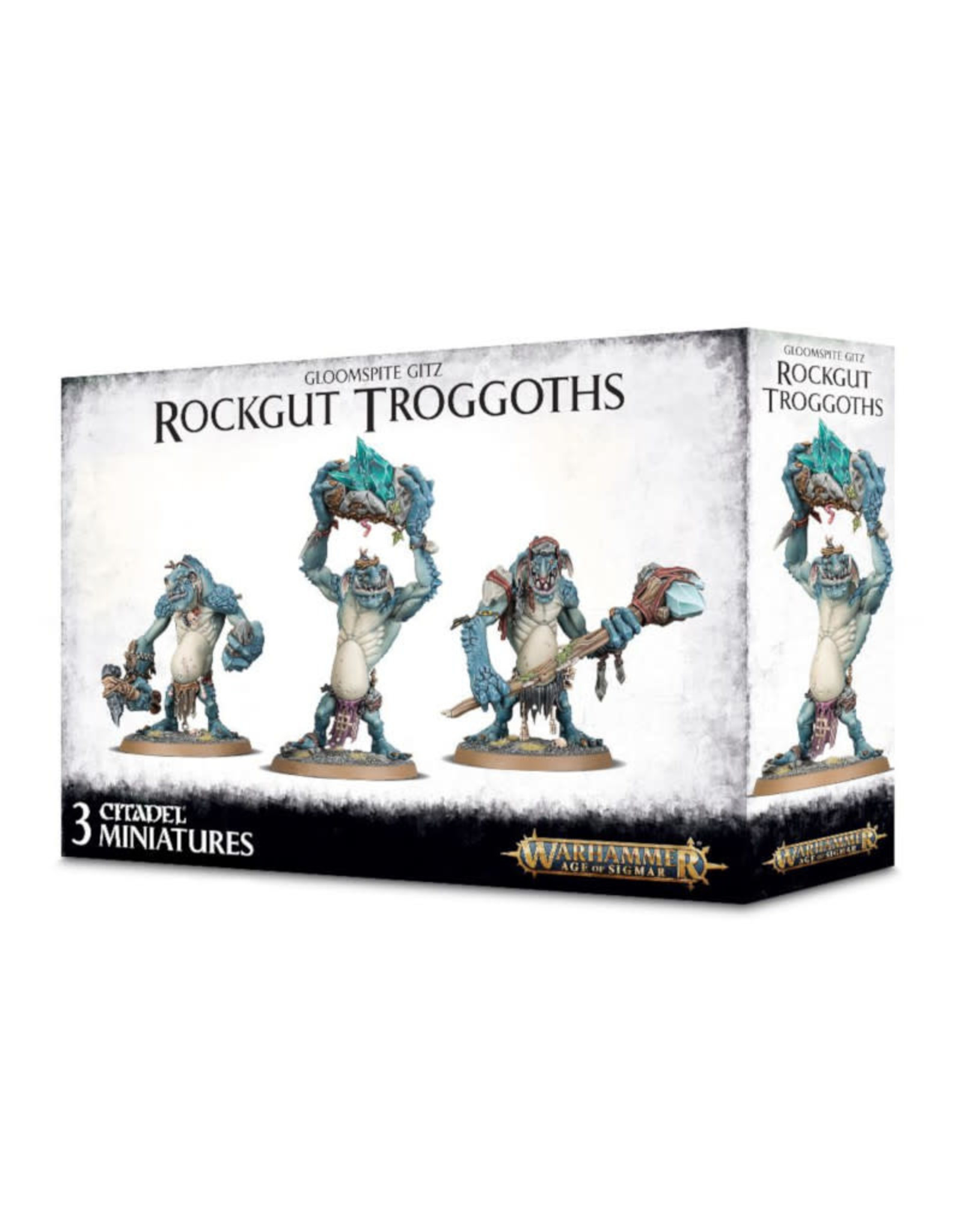 Games Workshop Warhammer Age of Sigmar Gloomspite Gitz Rockgut Trogg