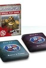 Games Workshop Blood Bowl Cards Titans