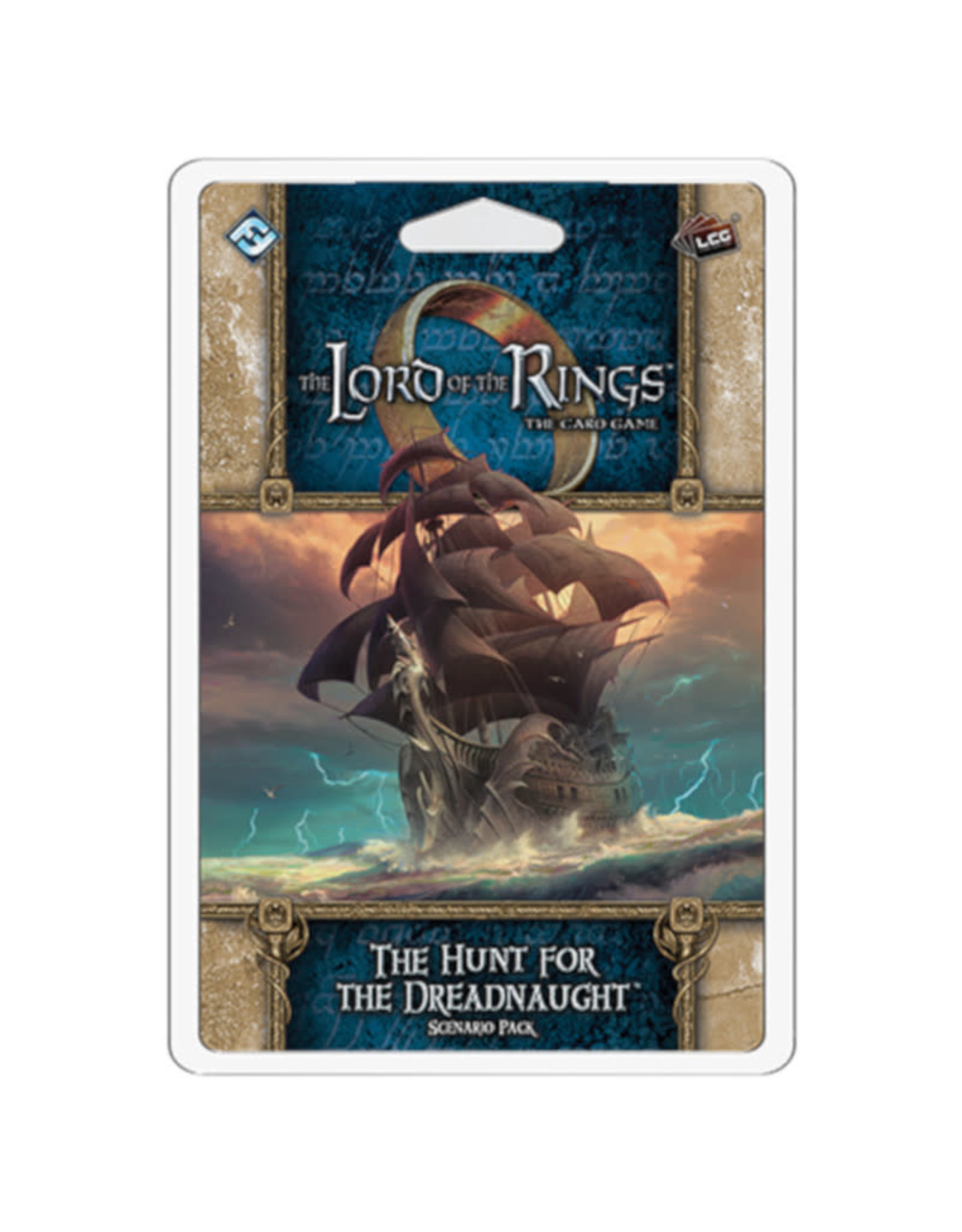 Fantasy Flight Games Lord of the Rings LCG Scenario The Hunt for the Dreadnaught