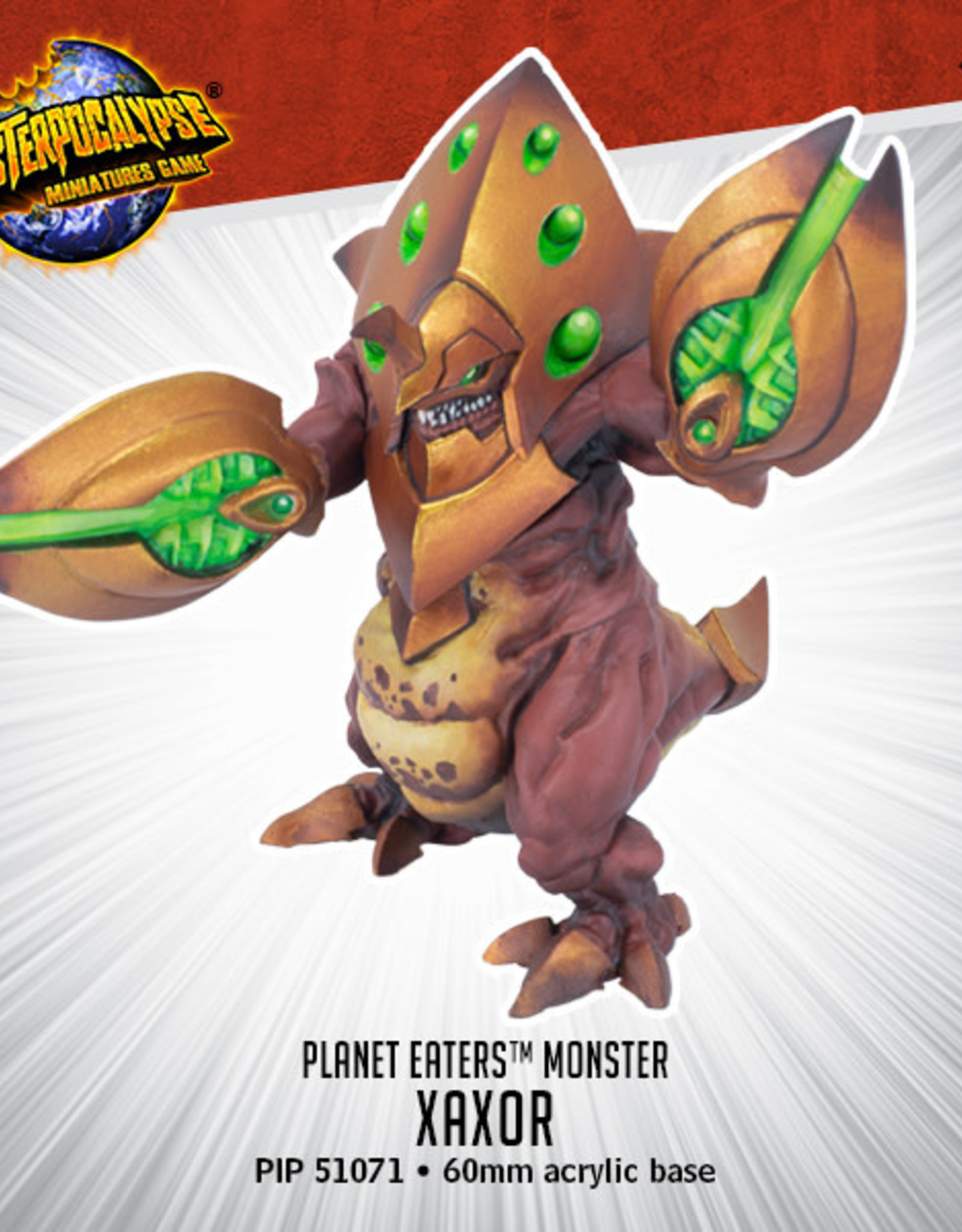 Privateer Press Monsterpocalypse Xaxor Monster Expansion