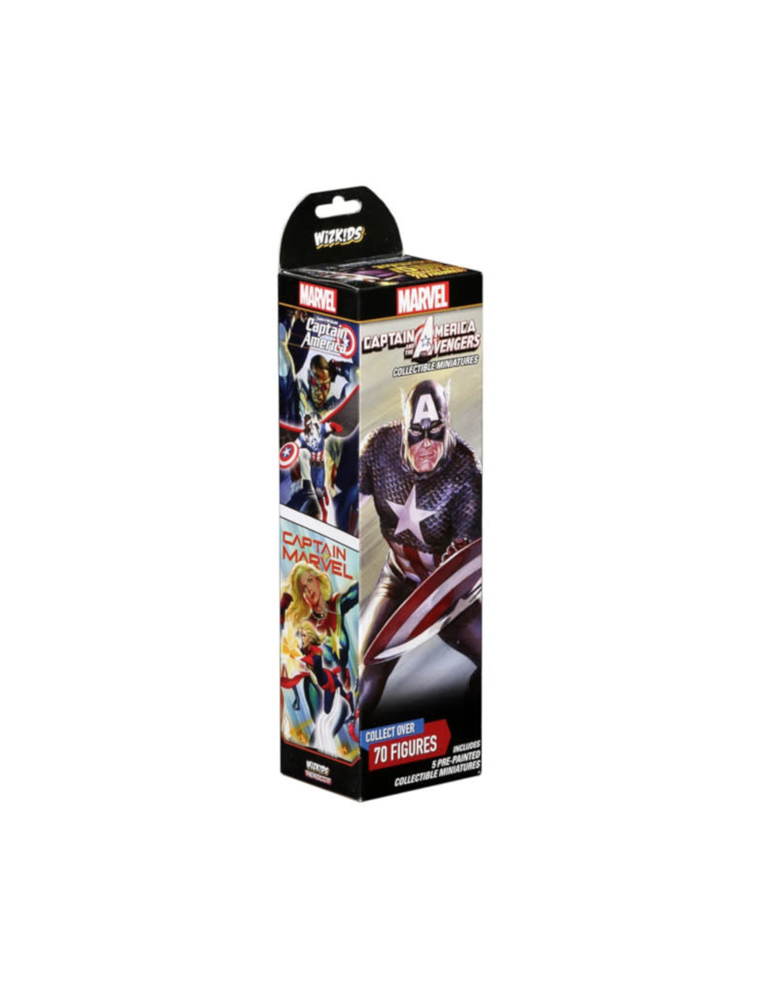 Wizkids Marvel HeroClix Captain America and the Avengers Booster