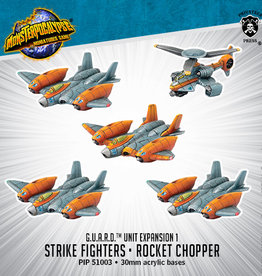 Privateer Press Monsterpocalypse Strike Fighters and Rocket Chopper Expansion