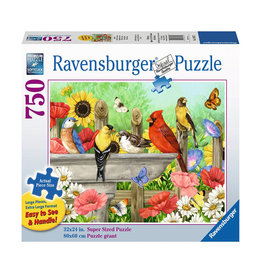 Ravensburger Bathing Birds 750 PC Large Format