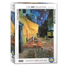 Eurographics Cafe Terrace at Night 1000 PCS