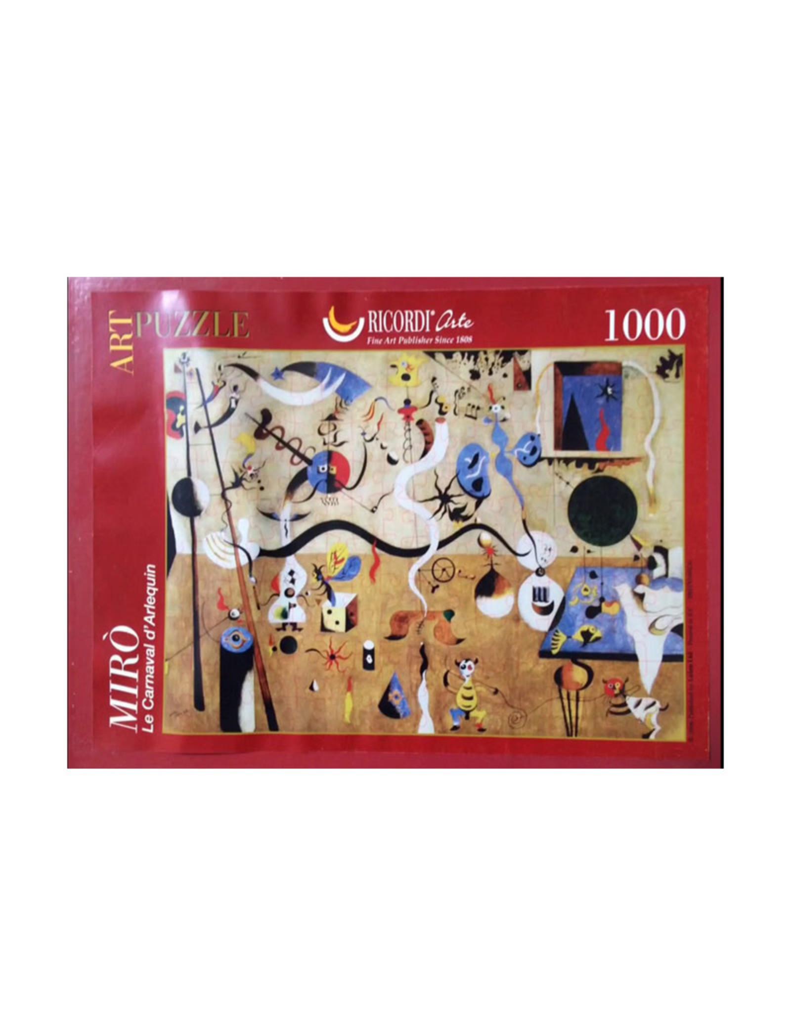 Clementoni Carnaval DArlequin1 1000 PCS (Miro)