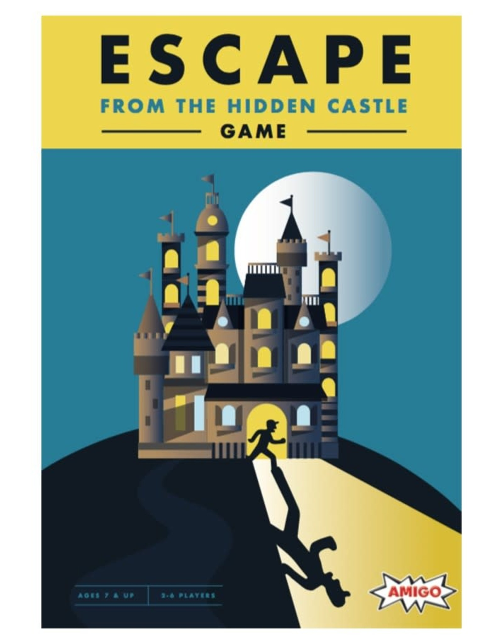 Amigo Games Escape From the Hidden Castle
