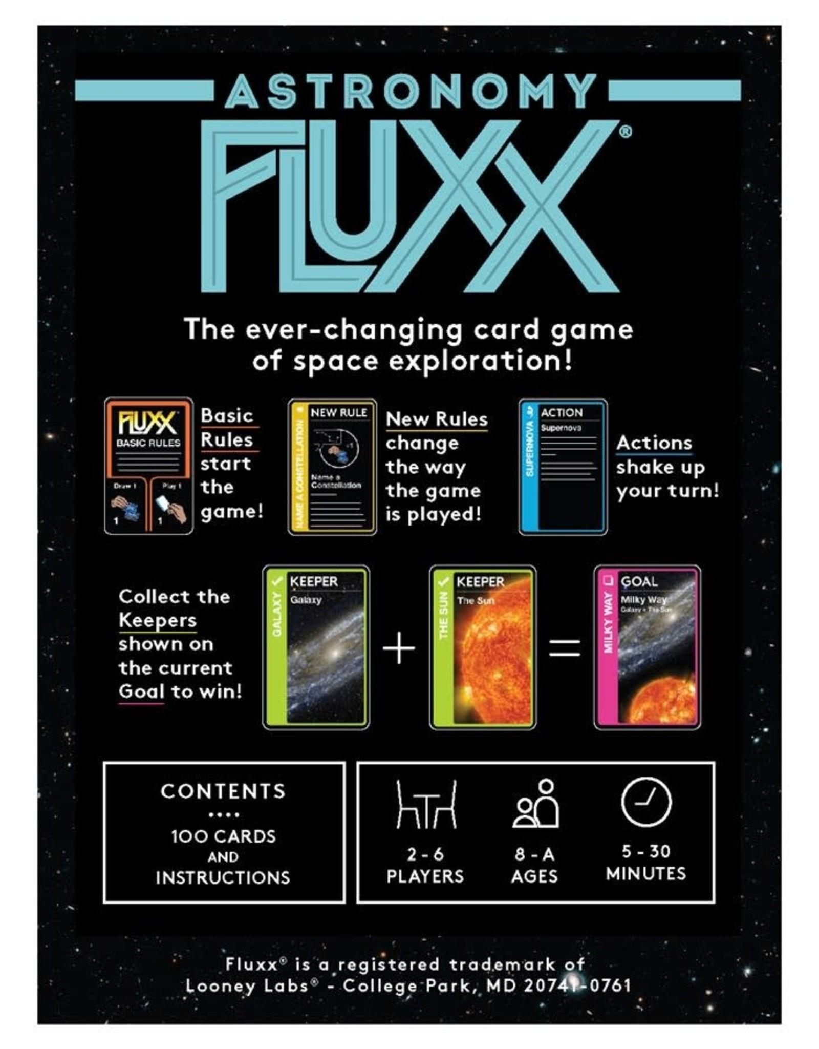 Looney Labs Fluxx Astronomy