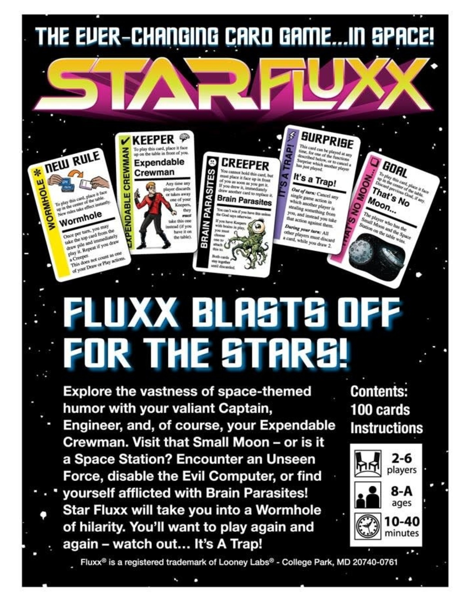 Looney Labs Fluxx Star Fluxx
