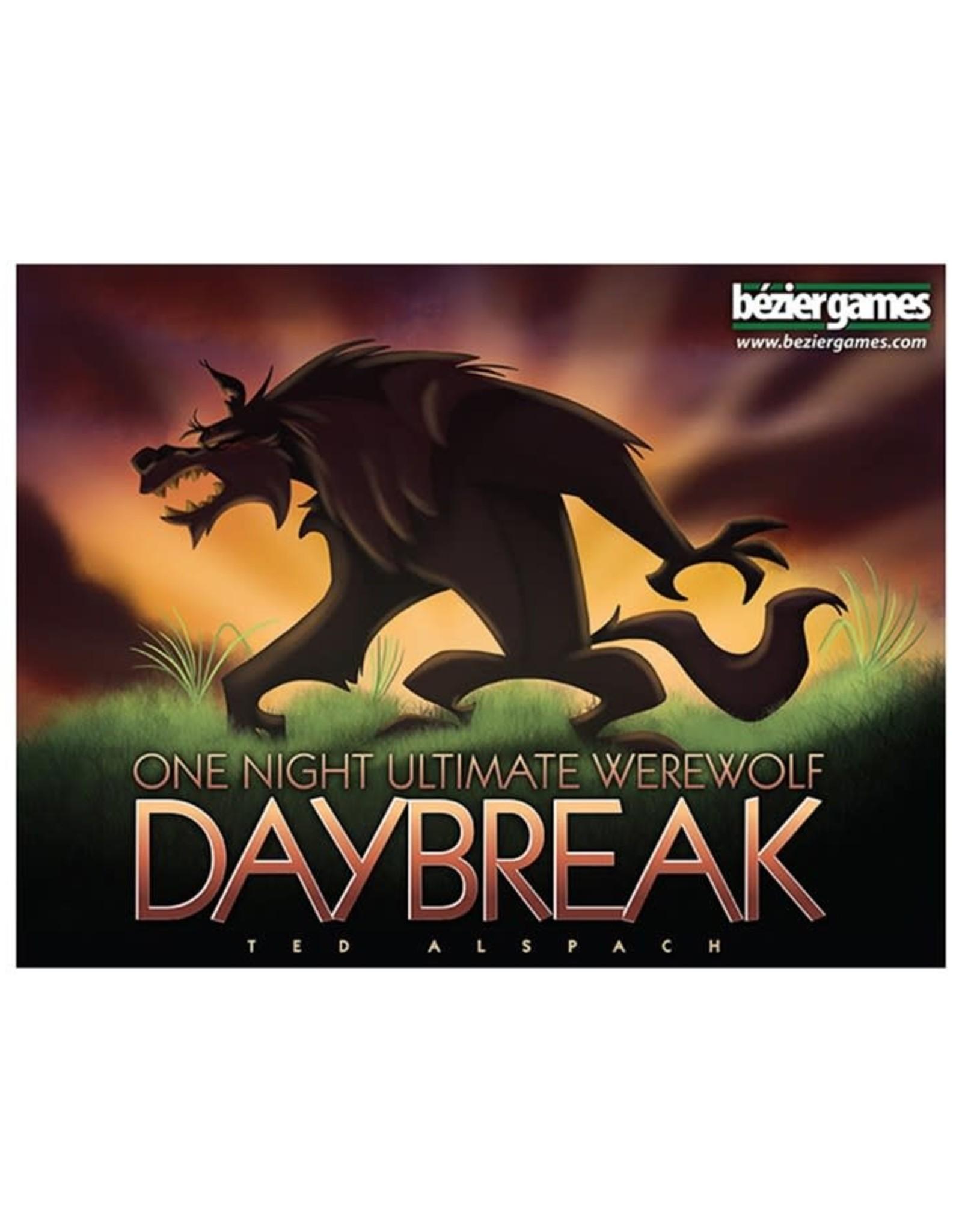 Bezier Games One Night Werewolf Daybreak