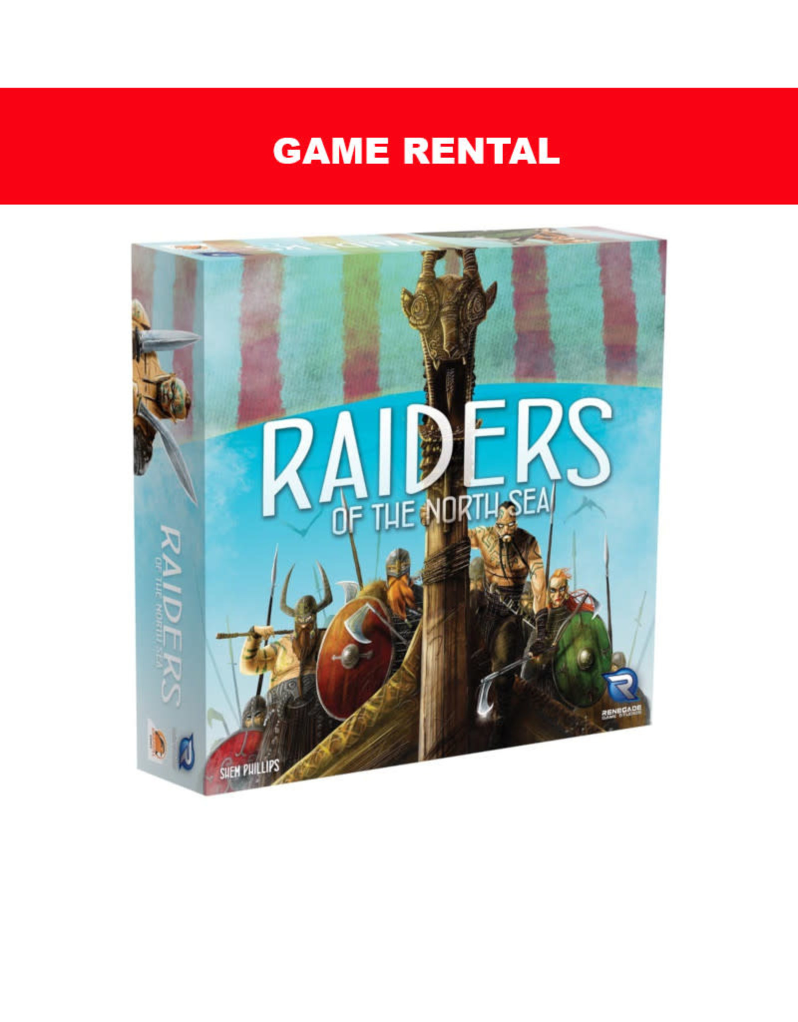 Game Night Games (RENT) Raiders of the North Sea per day. Love it! Buy it!
