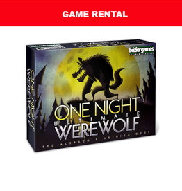 Bezier Games (RENT) One Night Ultimate Werewolf for a Day. Love It! Buy It!