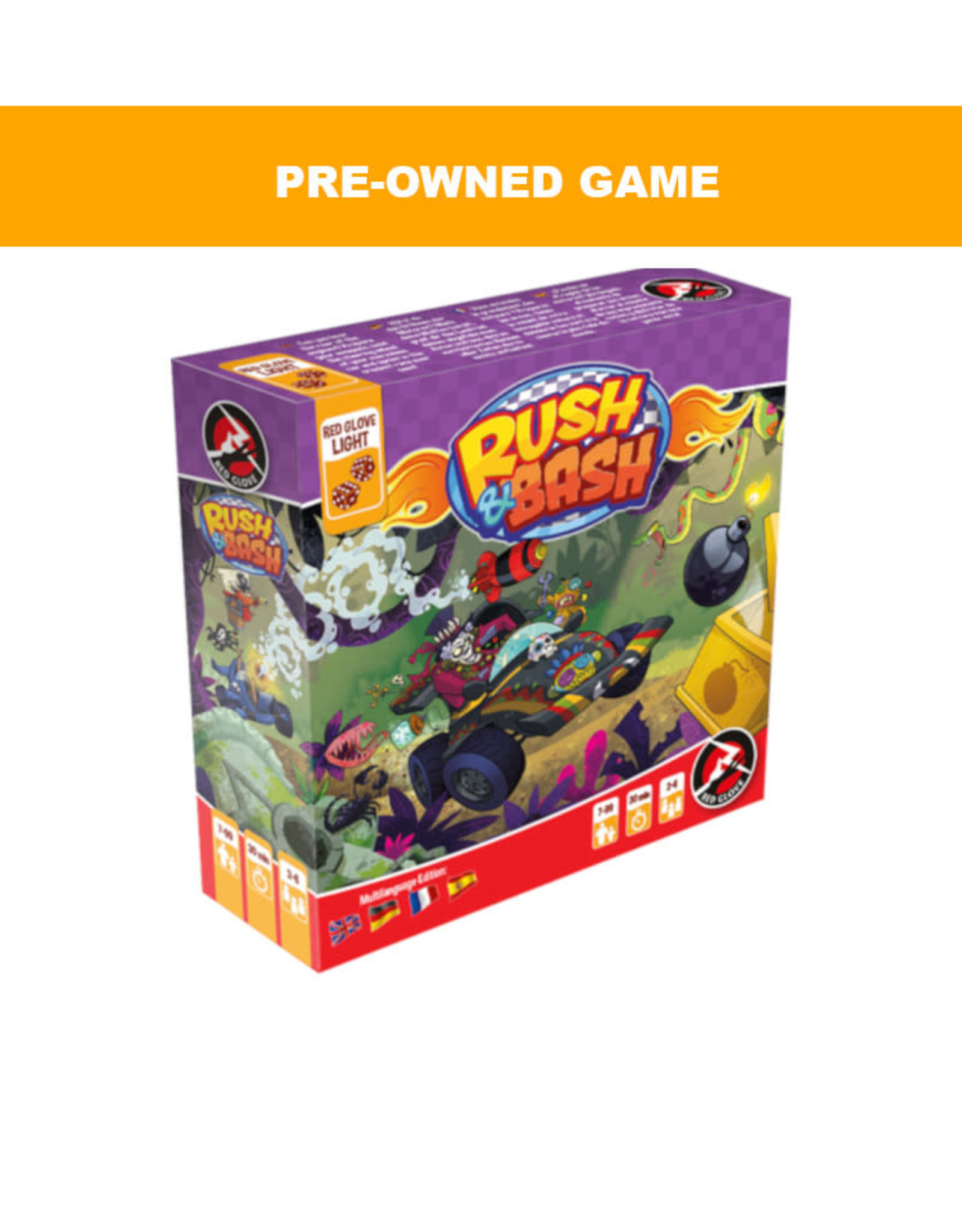 Game Night Games (Pre-Owned Game) Rush and Bash