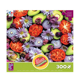 Ceaco Ugly Produce is Beautiful Guacamole Puzzle 300 PCS