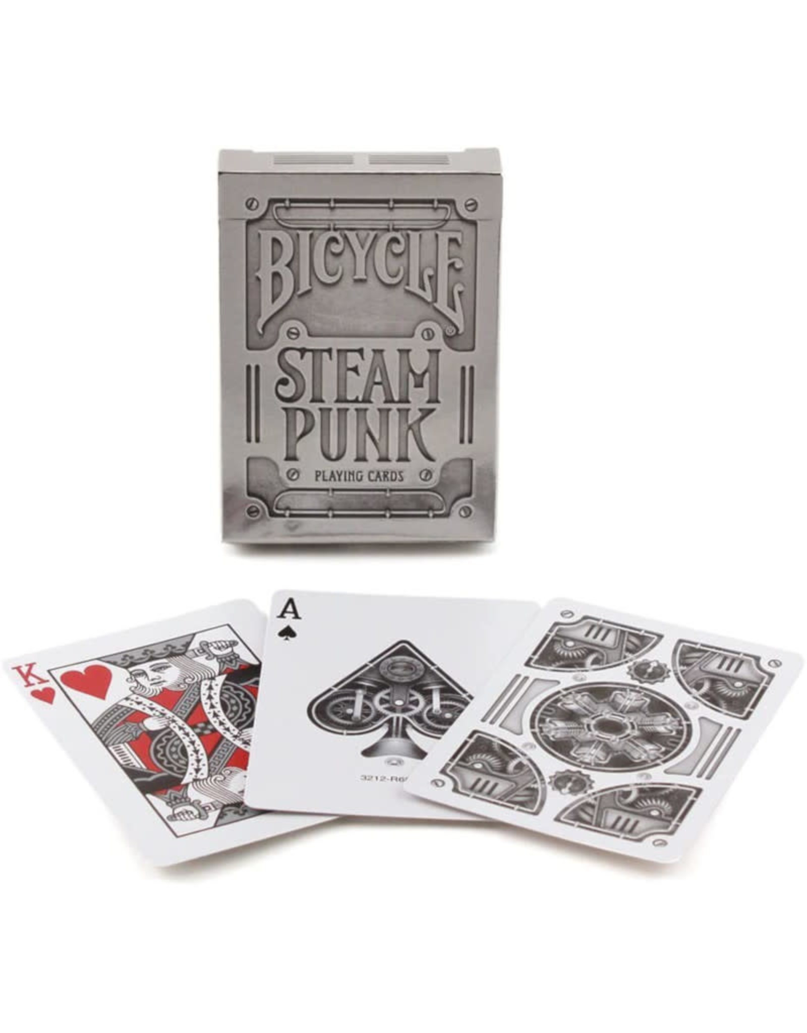 United States Playing Card Co Playing Cards: Steam Punk Silver