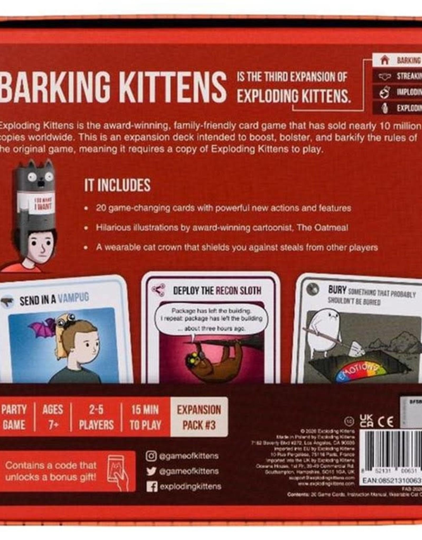 Miscellaneous Exploding Kittens: Barking Kittens