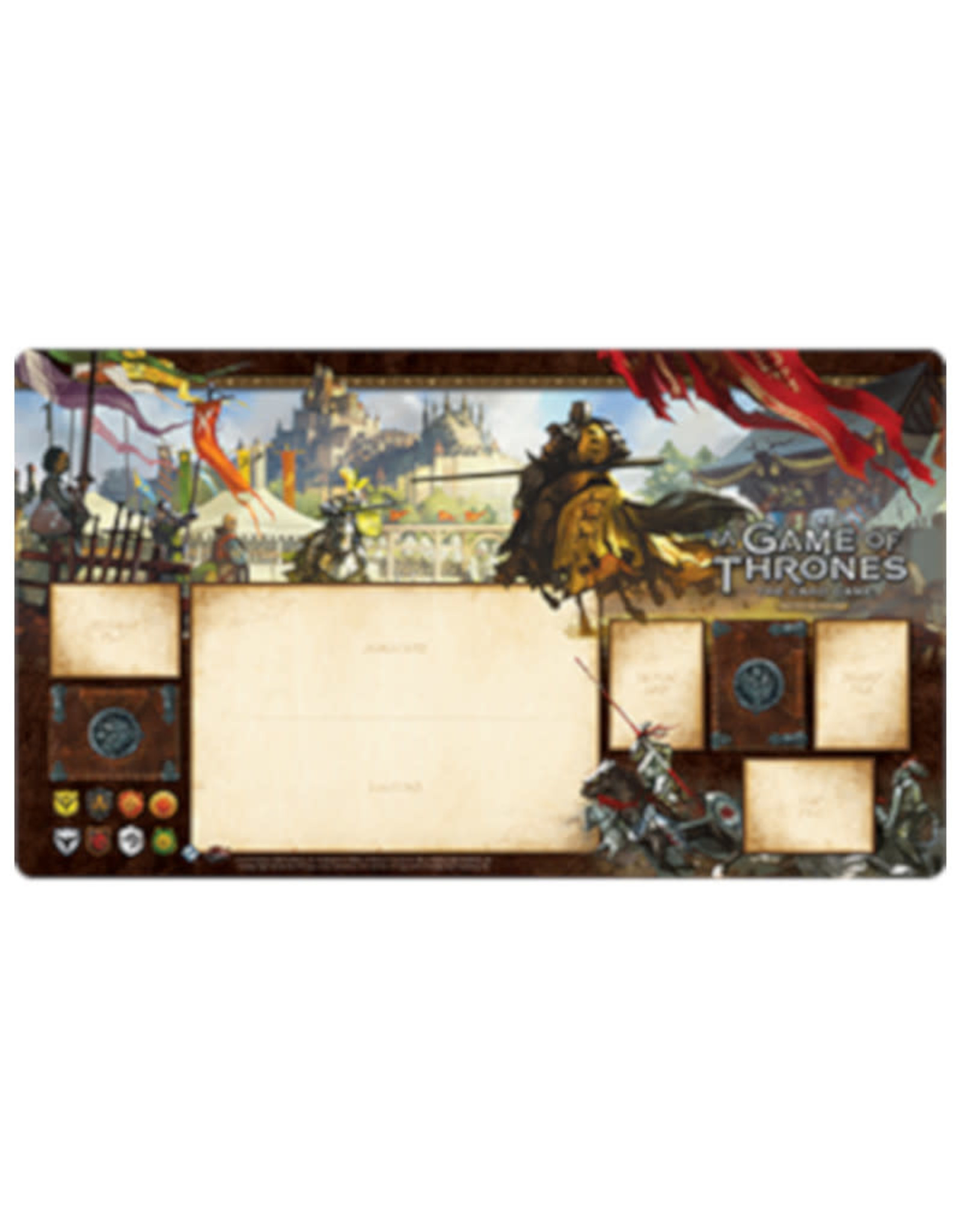 Fantasy Flight Games Game of Thrones LCG Playmat Knights of the Realm