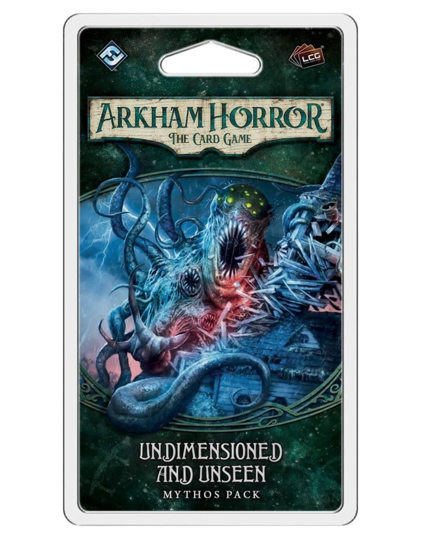 Fantasy Flight Games Arkham Horror LCG Undimensioned and Unseen