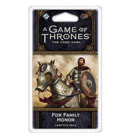 Fantasy Flight Games Game of Thrones LCG For Family Honor