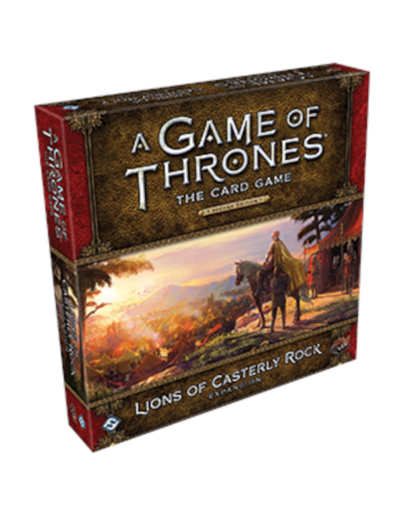 Fantasy Flight Games Game of Thrones LCG Expansion Lions of Casterly Rock