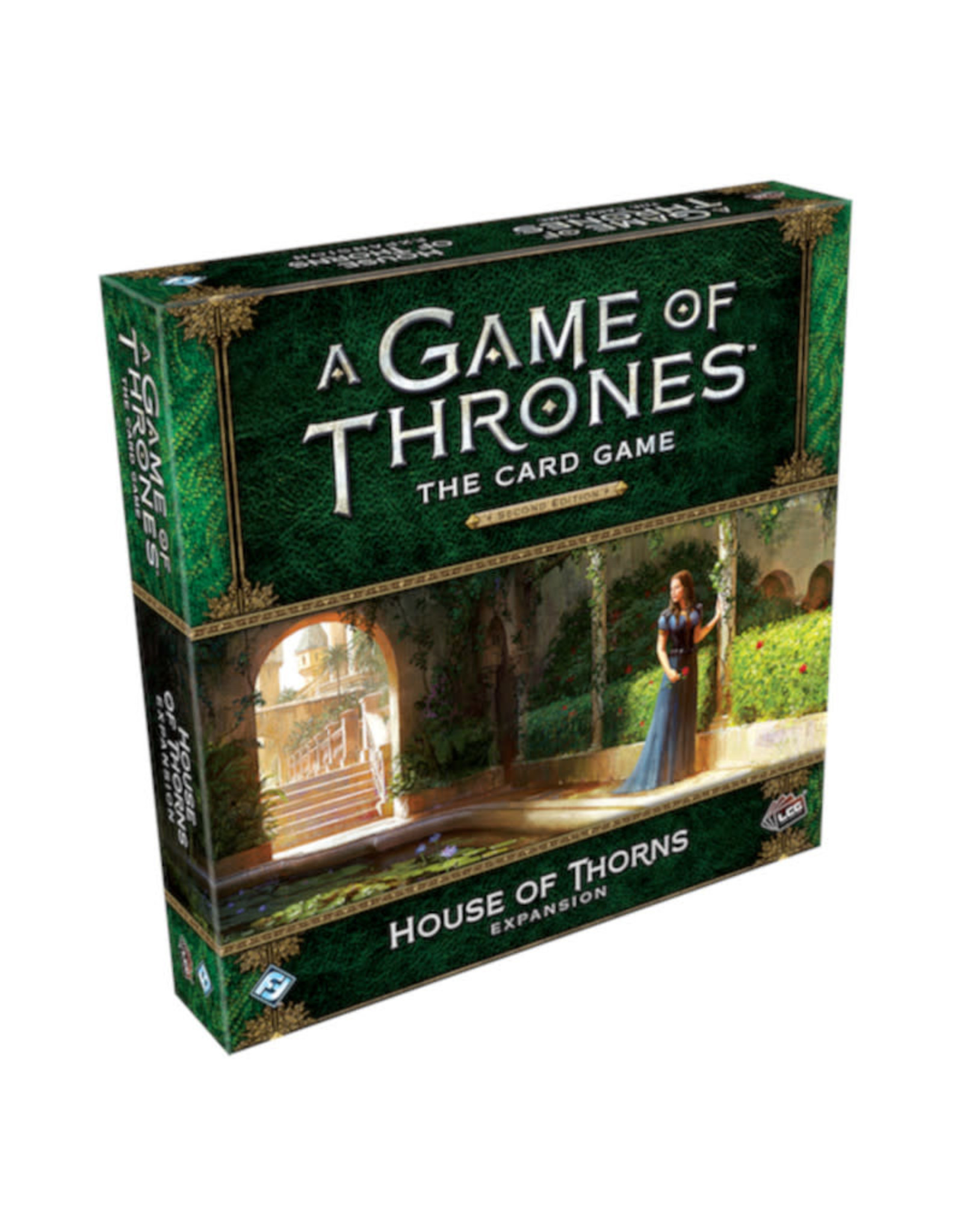 Fantasy Flight Games Game of Thrones LCG Expansion House of Thorns