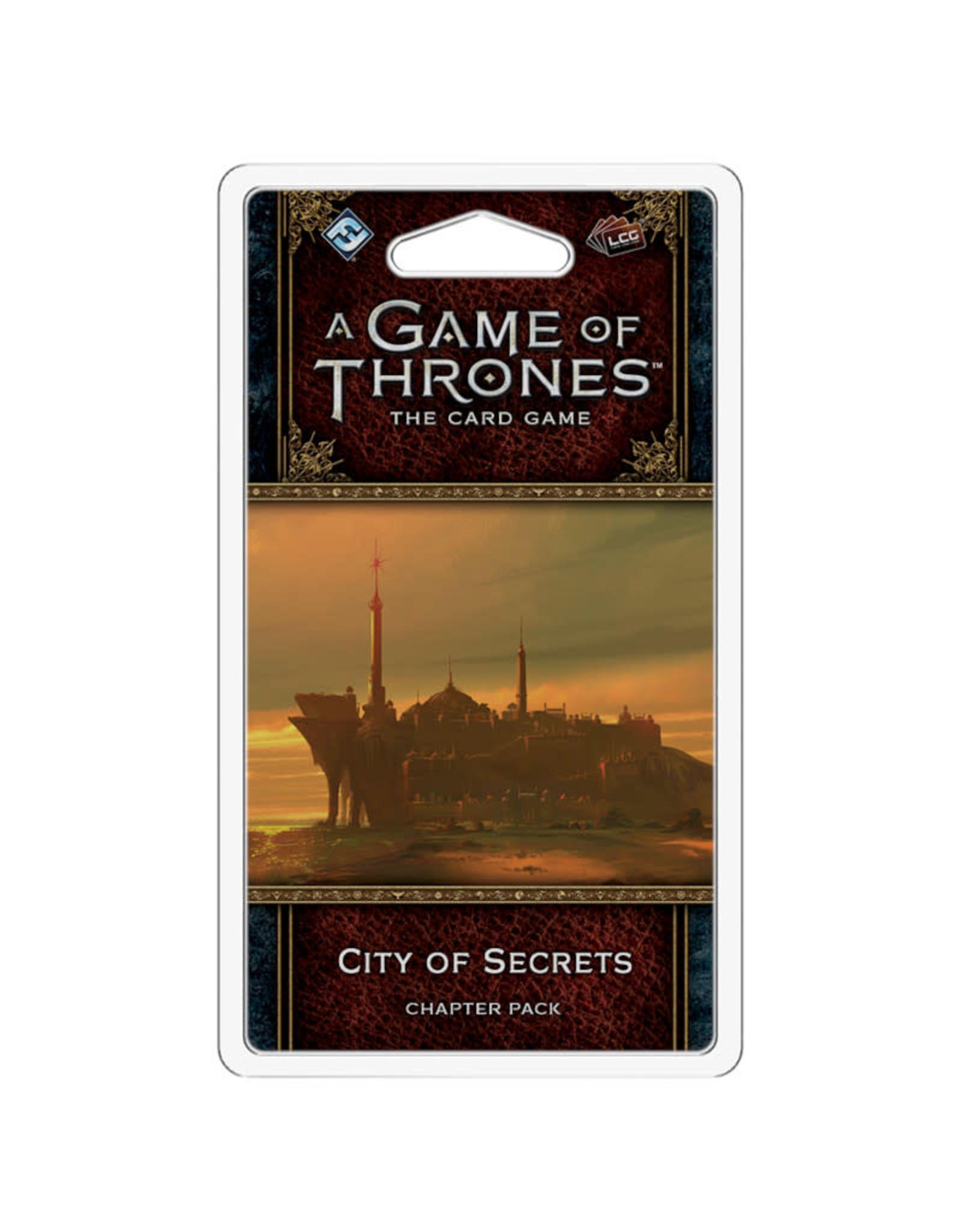 Fantasy Flight Games Game of Thrones LCG City of Secrets