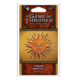 Fantasy Flight Games Game of Thrones LCG Intro Deck Martell
