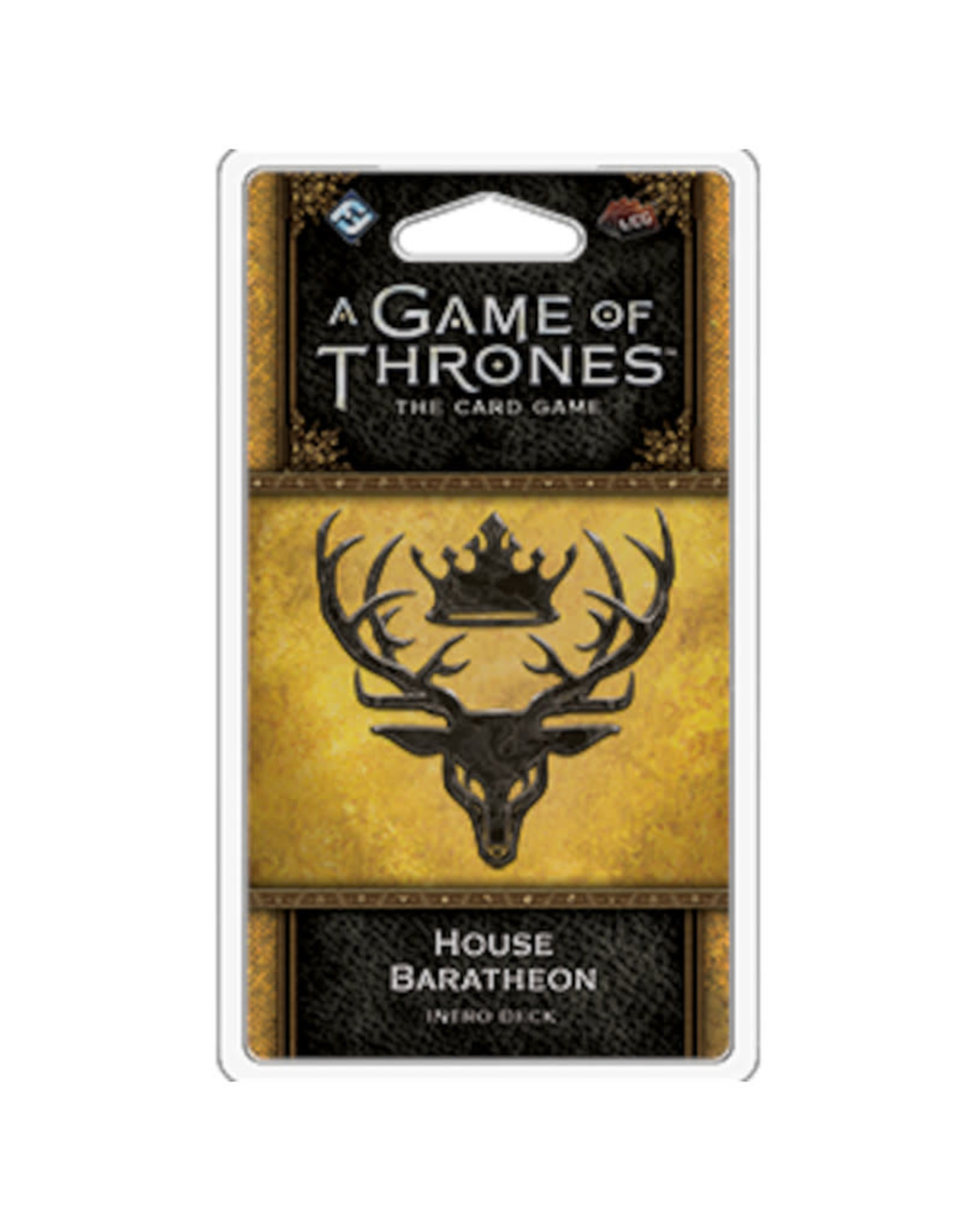 Fantasy Flight Games Game of Thrones LCG Intro Deck Baratheon