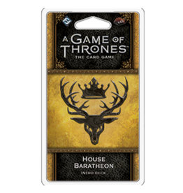 Fantasy Flight Games Game of Thrones LCG Intro Deck Baratheon