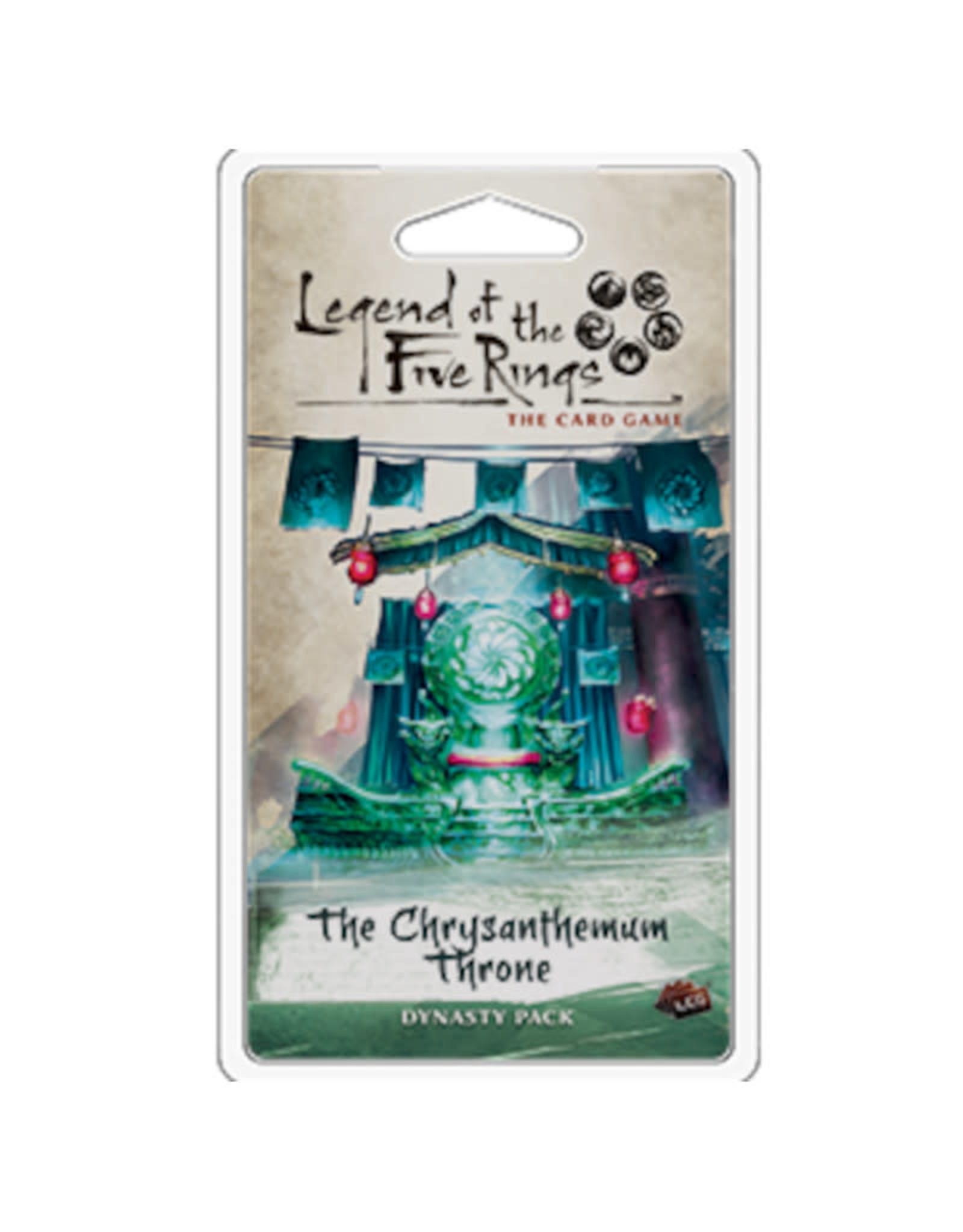 Fantasy Flight Games Legend of the Five Rings LCG Chrysanthemum Throne