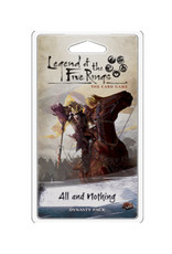Fantasy Flight Games Legend of the Five Rings LCG All and Nothing