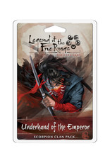 Fantasy Flight Games Legend of the Five Rings LCG Clan Pack Underhand of the Emperor