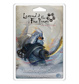 Fantasy Flight Games Legend of the Five Rings LCG Clan Pack Masters of the Court