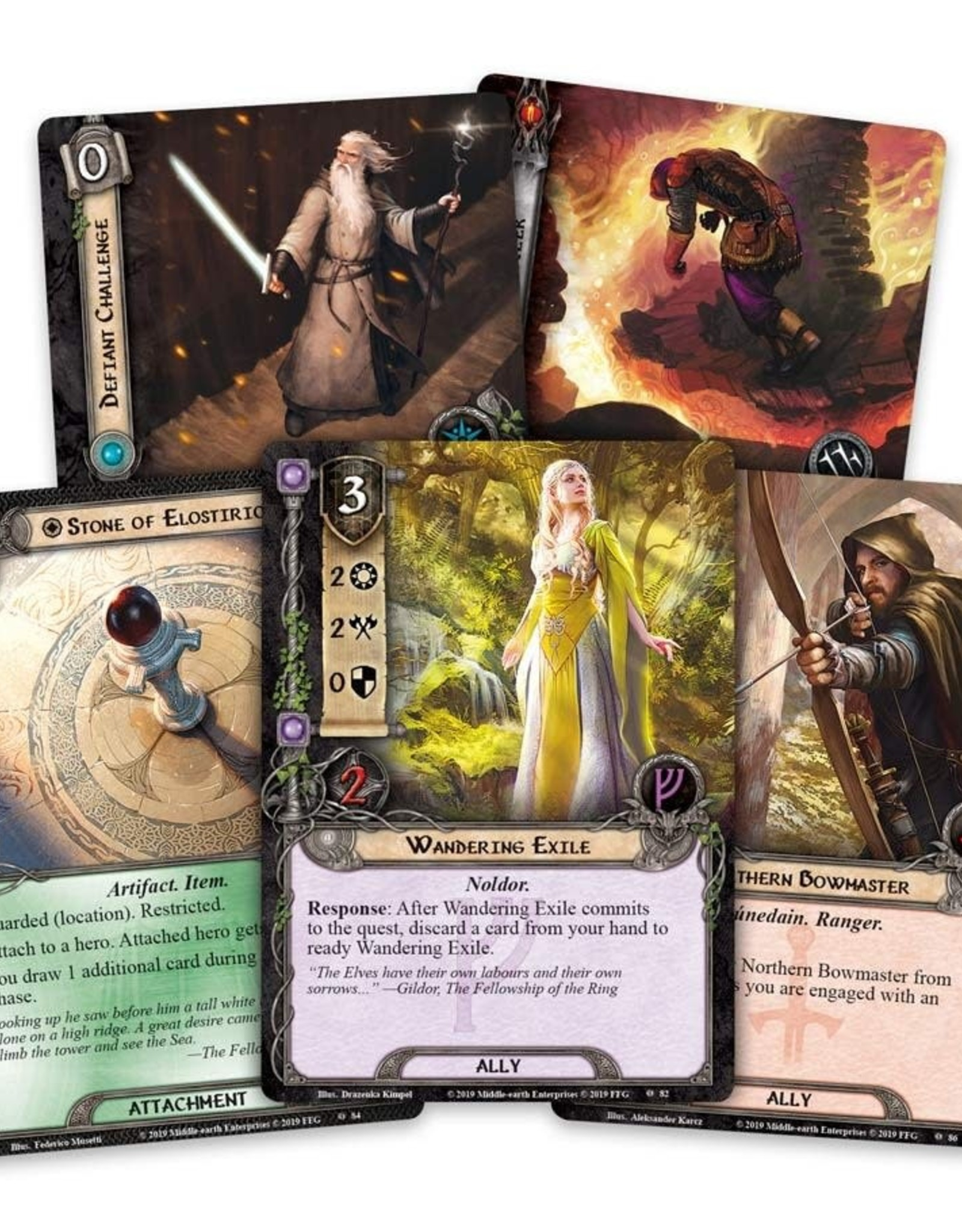 Fantasy Flight Games Lord of the Rings LCG Under the Ash Mountains