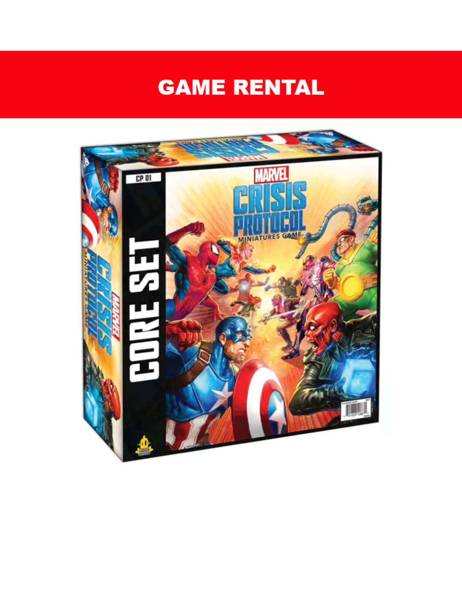 (RENT) Marvel Crisis Protocol For a Day. Love It! Buy It!