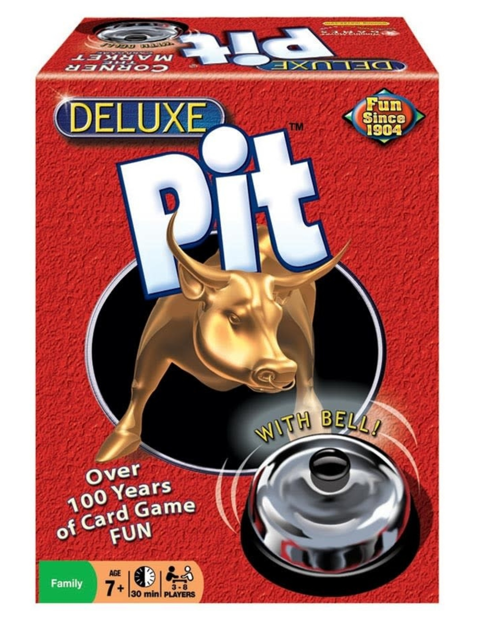 Winning Moves Deluxe Pit (With Bell)