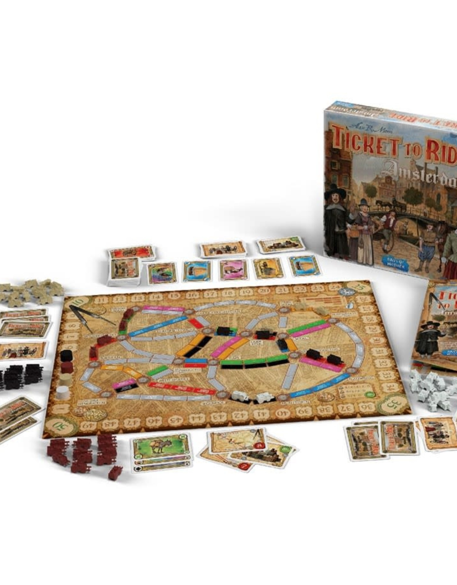 Days of Wonder Ticket to Ride: Amsterdam