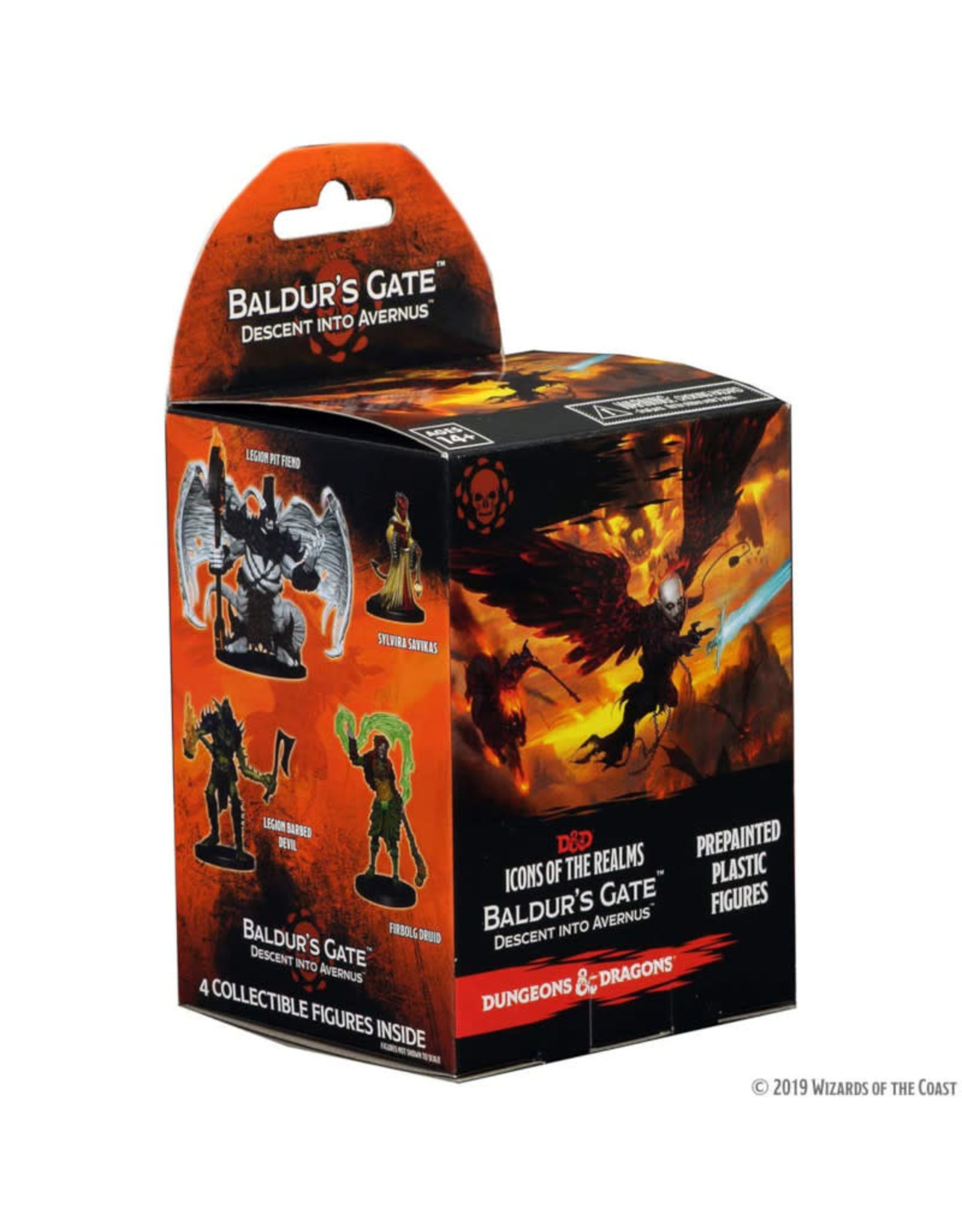 Wizkids D&D Miniatures: Icons of the Realms Baldur's Gate Descent into Avernus Booster