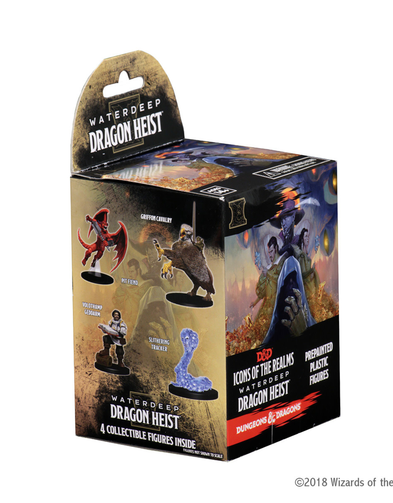 Wizkids D&D Miniatures: Icons of the Realms Waterdeep Dragon Heist Booster