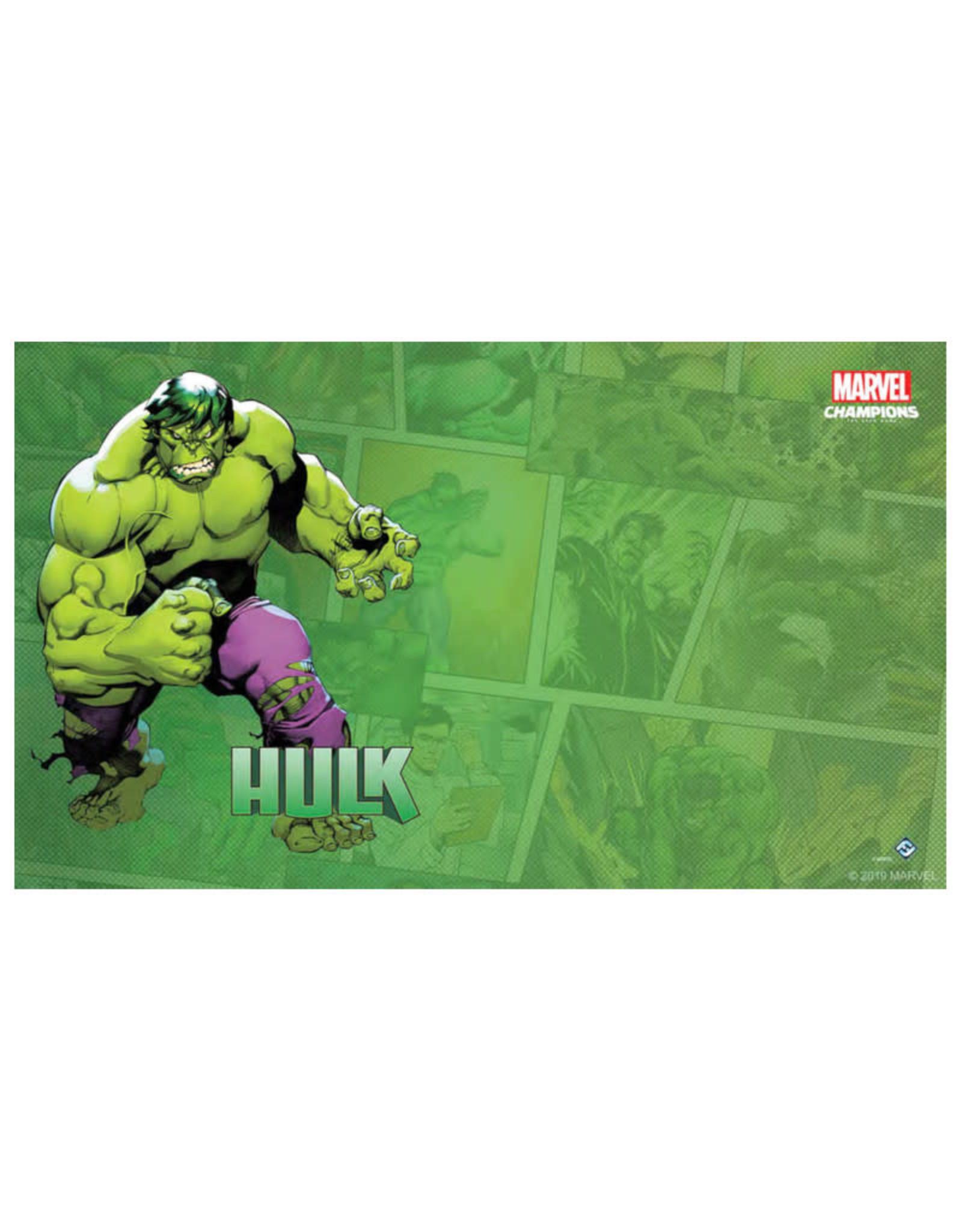 Fantasy Flight Games Marvel Champions LCG Game Mat: Hulk
