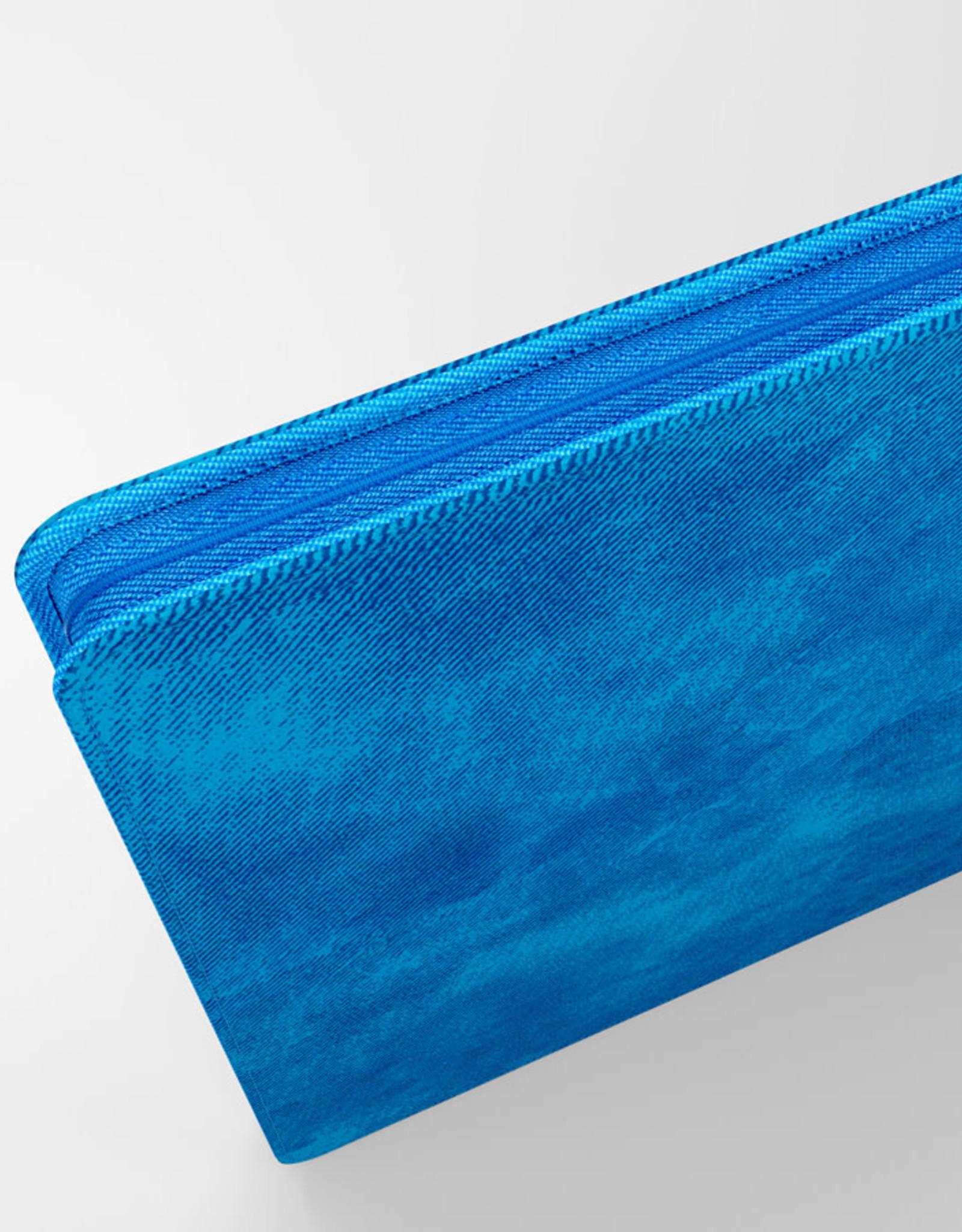 Binder: 24-Pocket Zip-Up Album Blue