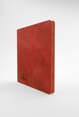 Binder: 24-Pocket Zip-Up Album Red