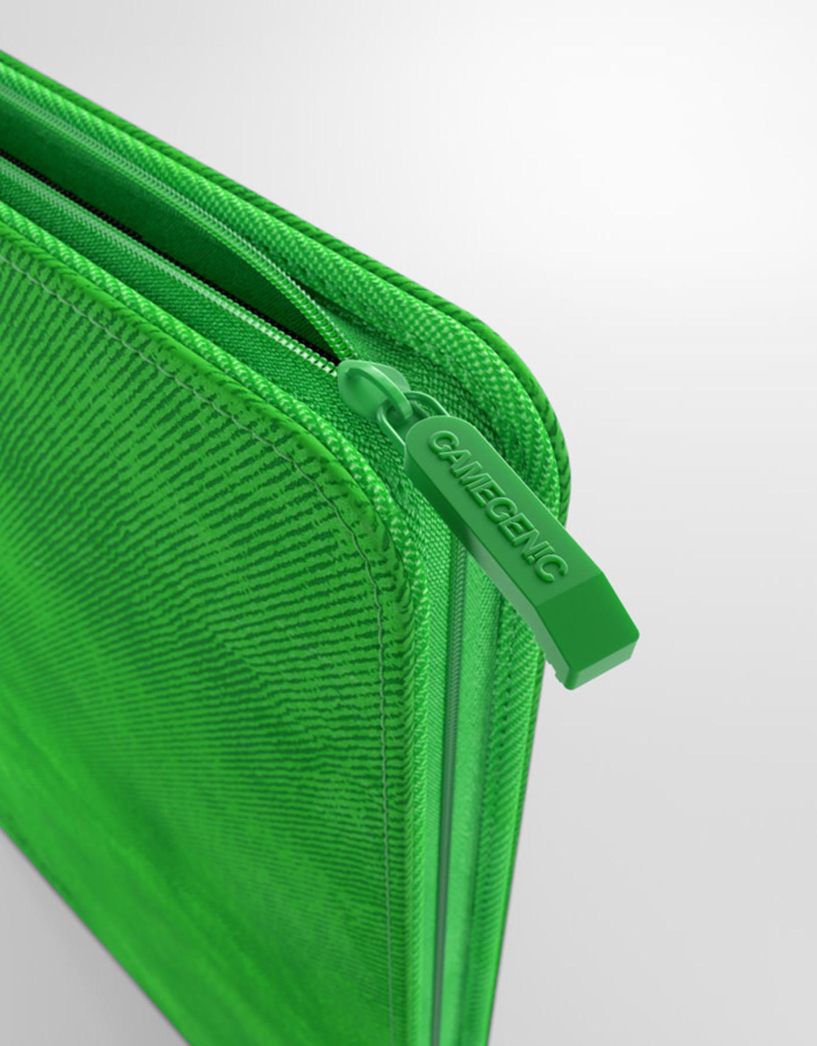 Binder: 24-Pocket Zip-Up Album Green