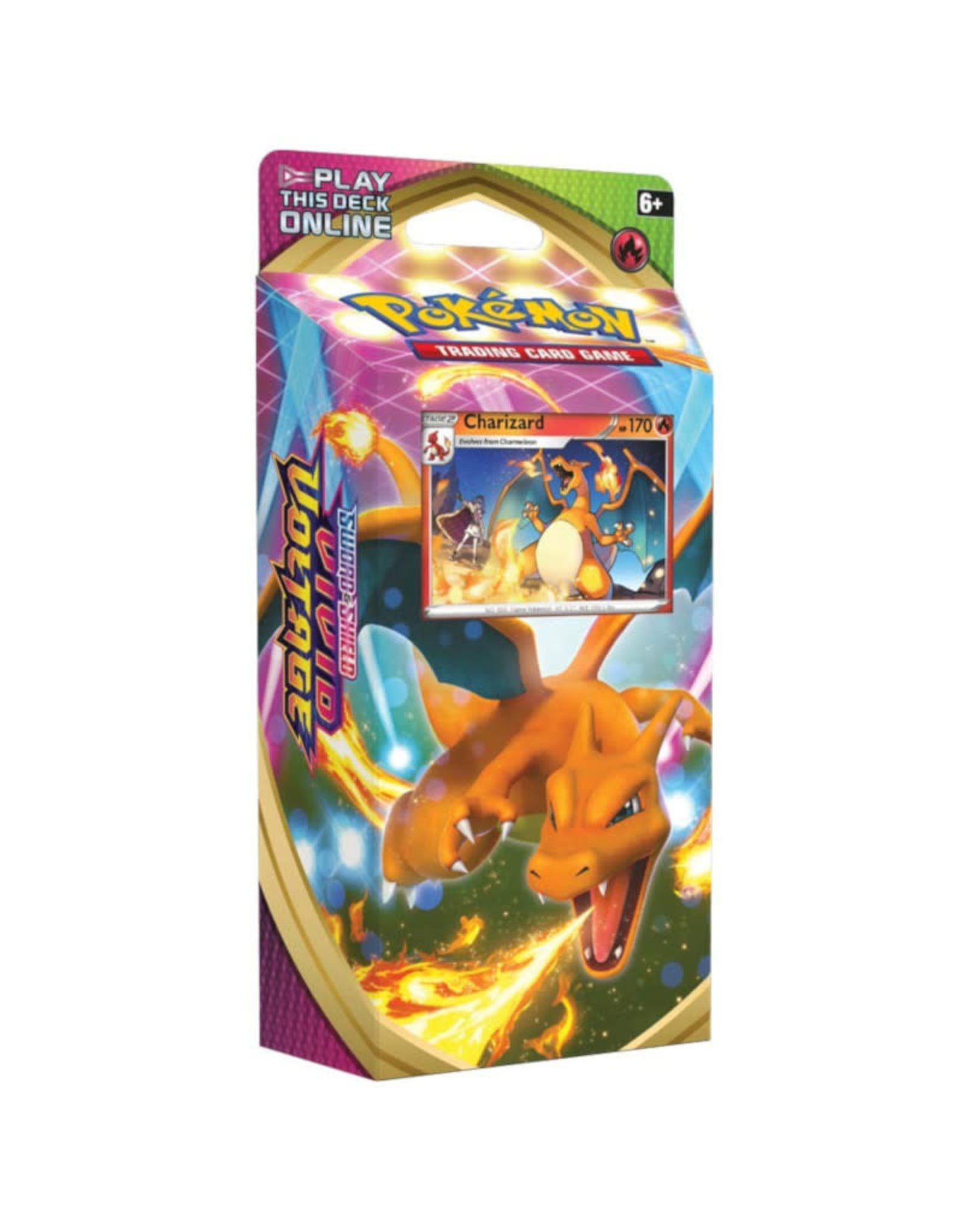 Pokemon Pokemon TCG Vivid Voltage Theme Deck - Charizard (Pre-Order)