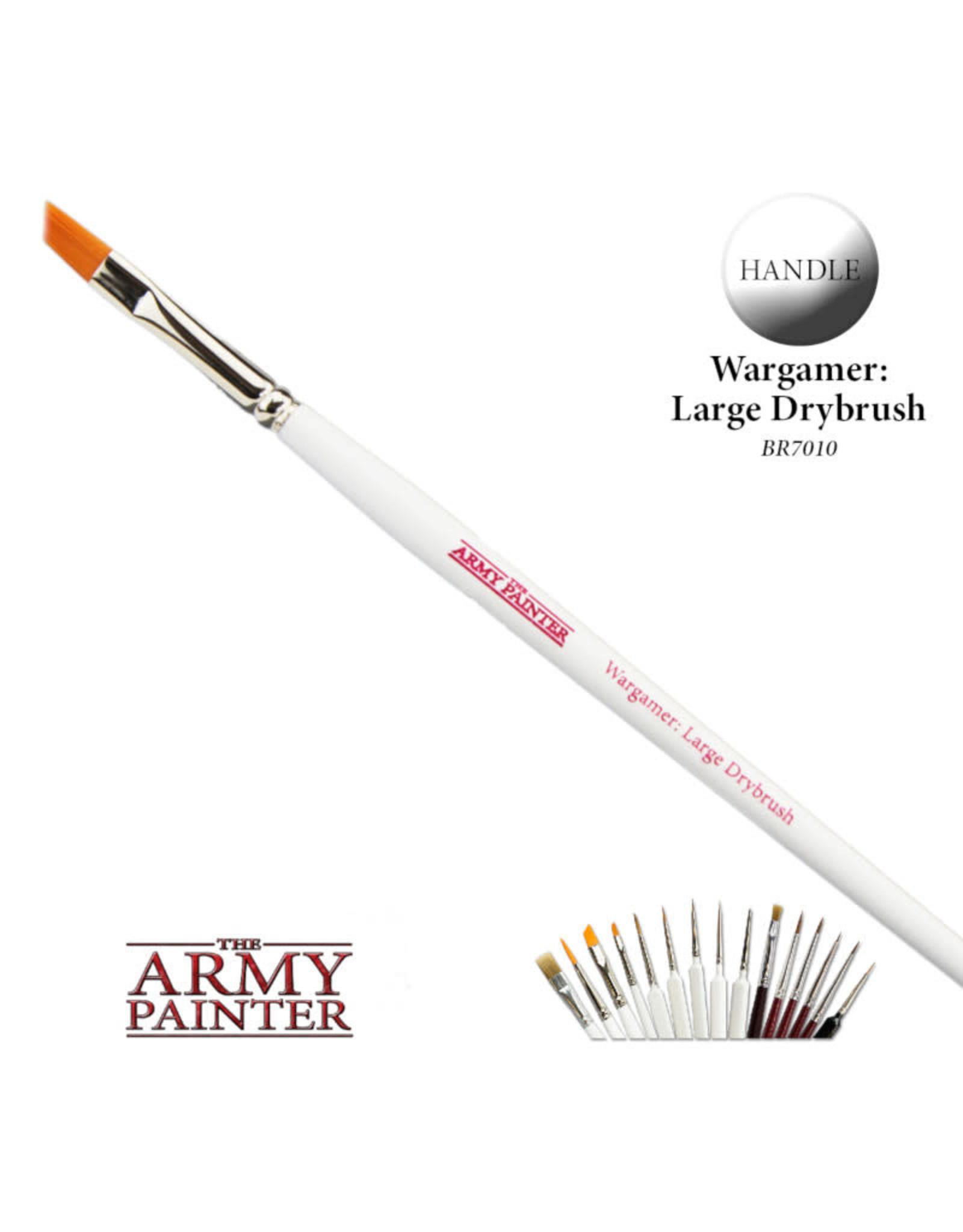 Wargamer Brush: Large Drybrush