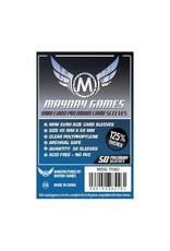Mayday Games Sleeves: Premium Mini European (50) (Dark Blue)
