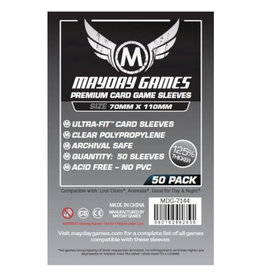Mayday Games Sleeves: Premium Lost Cities (50) (grey)
