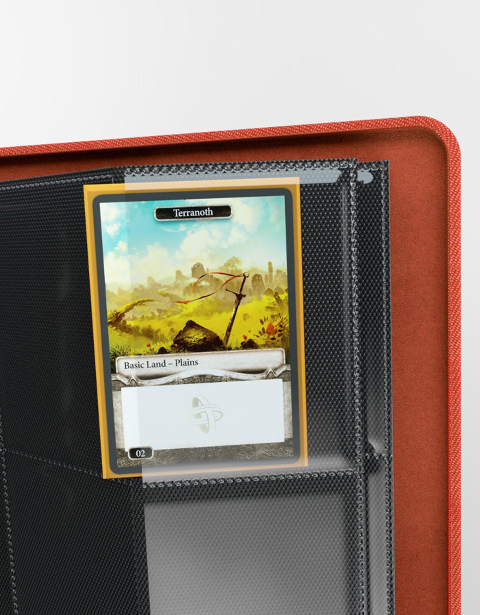 Binder: 18-Pocket Zip-Up Album Red