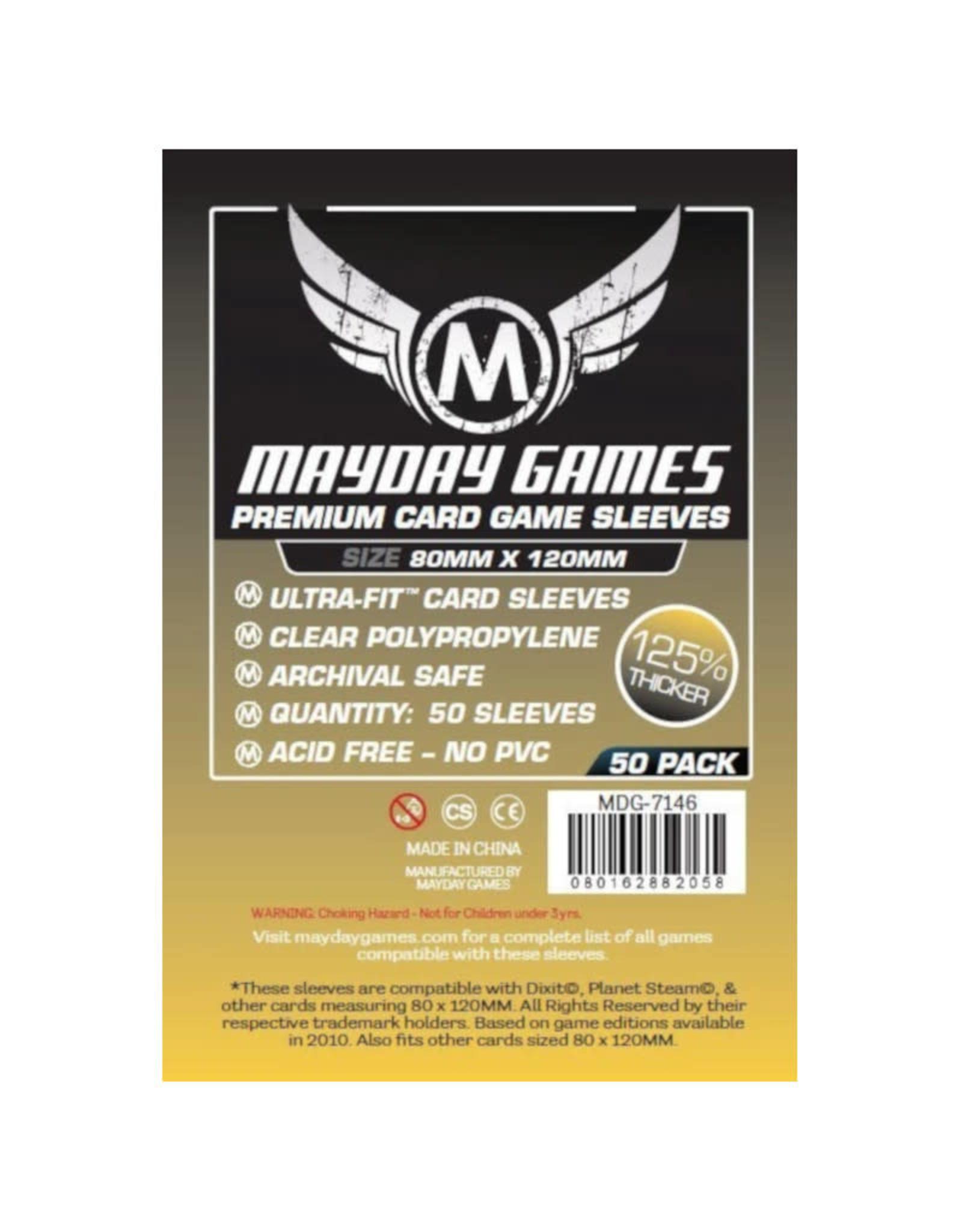 Mayday Games Sleeves: Premium Magnum Dixit/Mysterium (50) (Gold)