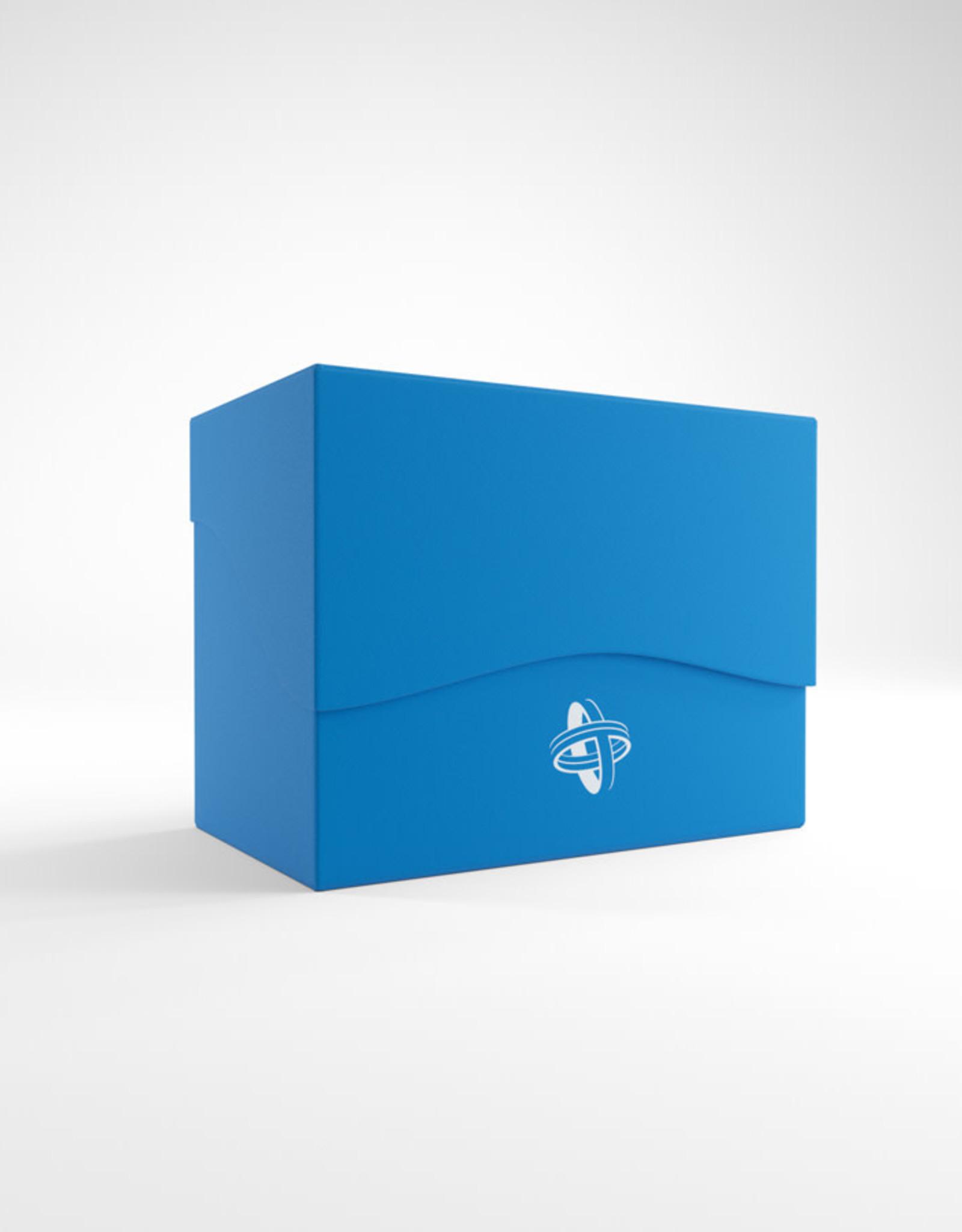 Deck Box: Side Holder 80+ Blue